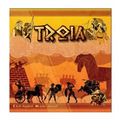 Juego de mesa gdm games Troya
