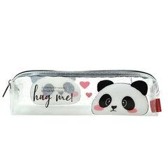 Estuche Legami Panda transparente (19.5x5.5 cm)