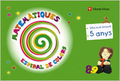 Vvc p5 matemàtiques/espiral de colors