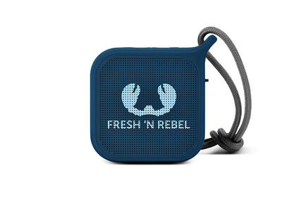 Altavoz Fresh n Rebel Bluetooth Rockbox Pebble Azul
