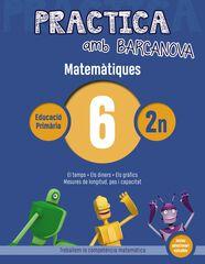 PRACTICA MATEMÀTIQUES 06 Barcanova Quaderns 9788448945558