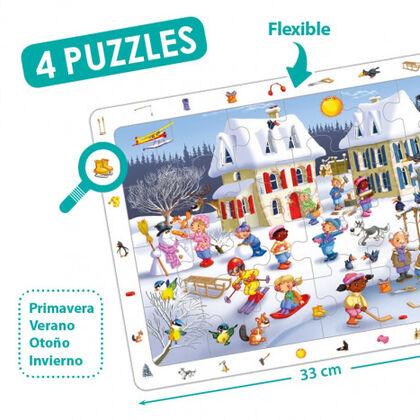 Puzzle Akros Las cuatro estaciones