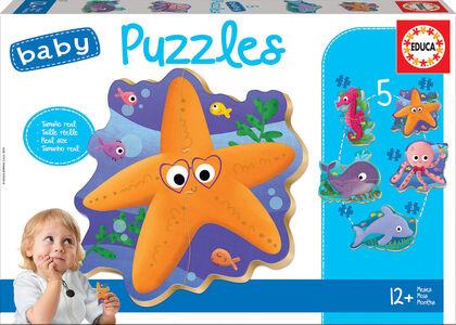 Puzzle Educa Animales del mar