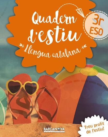 ESTIU LLENGUA I LITERATURA 3ER ESO Barcanova Quaderns 9788448942038