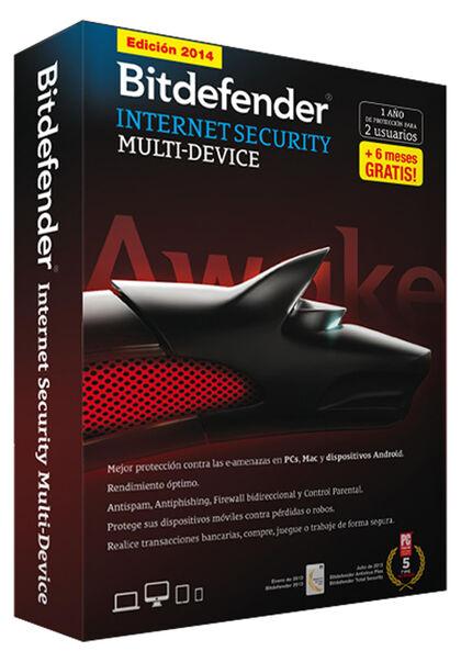Bitdefender Inter Securi 2014 2 Licencia