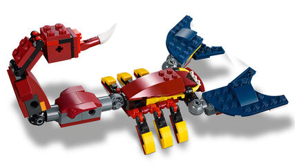 LEGO Creator Dragón Llameante (31102)