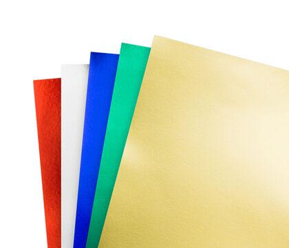 Cartolina Metal·litzada Ineta Or