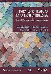 Estrategias de apoyo en la escuela inclusiva