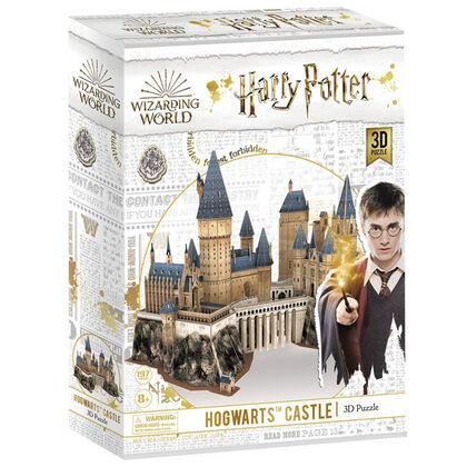 Puzzle 3D Cubic Fun Castillo de Hogwarts