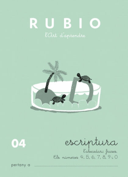 ESCRIPTURA 04 INFANTIL Rubio 9788489773448