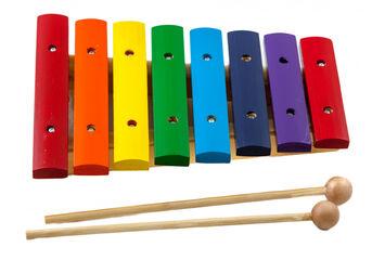 Xilófono Joan Albareda Multicolor