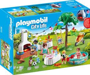 Playmobil City life Casa nueva fiesta en el jardín