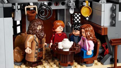 LEGO Harry Potter Cabaña de Hagrid: Rescate de Buckbeak (75947)