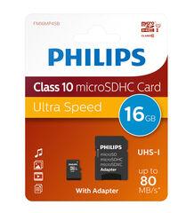 TARGETA MEMORIA MICRO SD 16GB PHILIPS CL