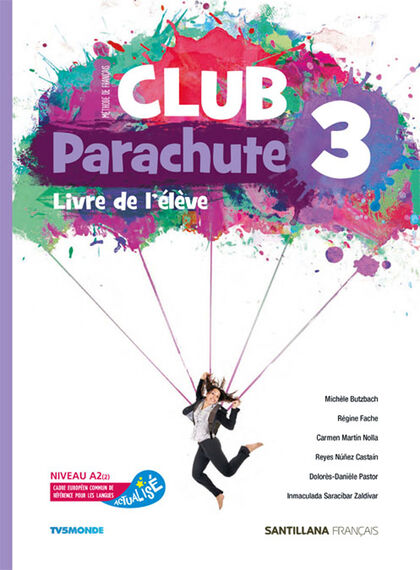 CLUB PARACHUTE 3 PACK ELEVE Santillana Text 9788490494011