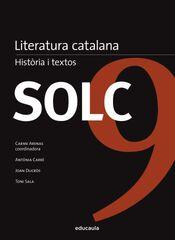 SOLC LITERATURA CATALANA HISTÒRIA Educaula 9788492672677