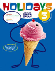ANE E3 Holidays/16 Anaya Quaderns 9788469813980