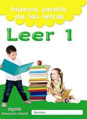 ALG P Jardín letras/Leer 1 Algaida Quaderns 9788490677407