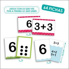 Juego didáctico Akros Descubrir números + su descomposición