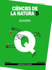 Naturals-quadern/Aprendre PRIMÀRIA 5 Anaya Text 9788467850437