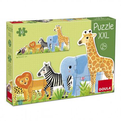 Puzzle Goula  Selva decreixent