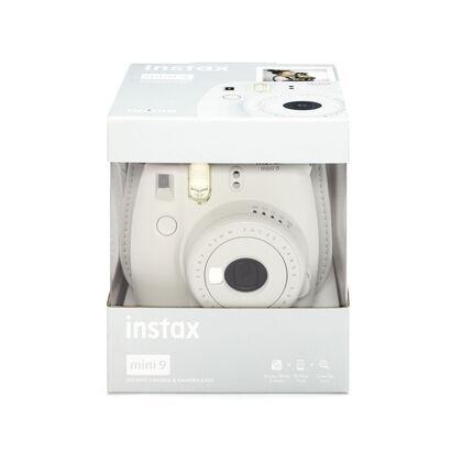 Pack Instax Mini 9 + Funda + Recanvi Blanc
