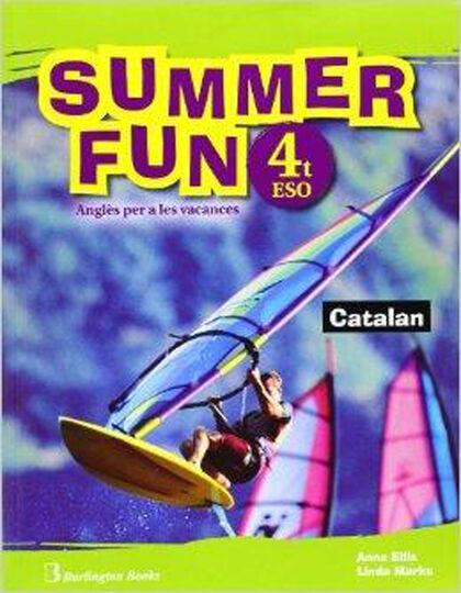 SUMMER FUN CATALAN 4t ESO Burlington Quaderns 9789963478699