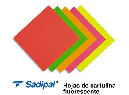 Cartulina Fluo 500x650 mm Amarillo