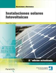 PAR CFGM Insta. solares fotovolt/18 Paraninfo 9788428340113