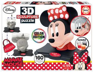 Puzzle Educa 3D Sculpture Minnie