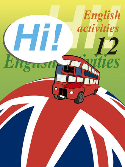 ENGLISH ACTIVITIES 12 HI! Nadal 9788478873975