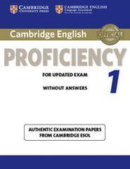 CUP Certificate PROF 1/SB Cambridge 9781107609532