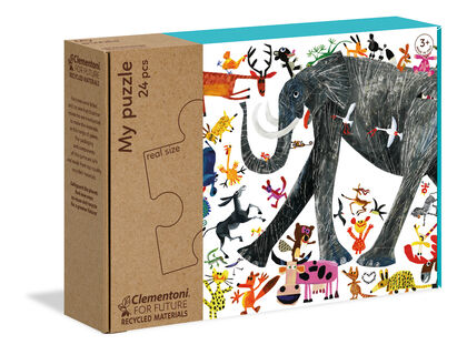 Maxi Puzzle Naturaleza (24 piezas)