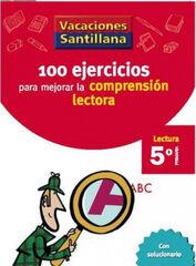 VACACIONES COMPRENSIÓN LECTORA 5º PRIMARIA Santillana Vacances 9788429409239