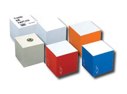 Tac de notas Abacus  100x100 mm Blanco
