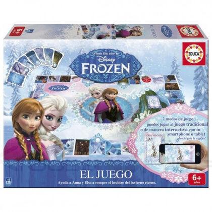 Juego interactivo Frozen