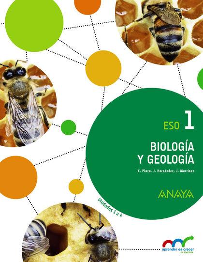 Biología Y Geología 1º Eso Anaya Text 9788467850765 Abacus Online