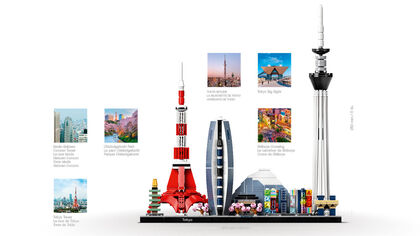 LEGO Architecture Tokio (21051)
