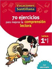 VACACIONES COMPRENSIÓN LECTORA 1º PRIMARIA Santillana Vacances 9788429407891