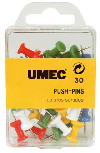 BLISTER CHINCHETAS UMEC MEMO 30un.