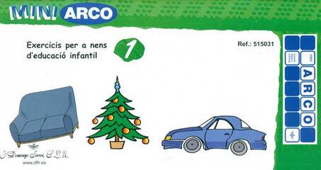 MINI ARCO EXERCICIS PER A NENS D'EDUCACIÓ INFANTIL 1 MINIARCO 9788492490042