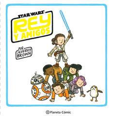 Star Wars Rey y amigos