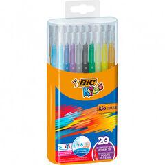 Estuche de rotuladores Bic Kids - 20 Colores