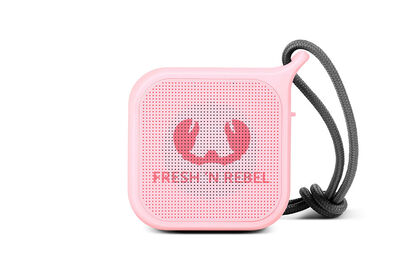 Altavoz Fresh n Rebel Bluetooth Rockbox Pebble Rosa