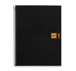 Cuaderno espiral Miquelrius A4 5x5 80F Naranja