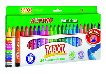 Estuche de rotuladores Alpino Maxi 12 colores