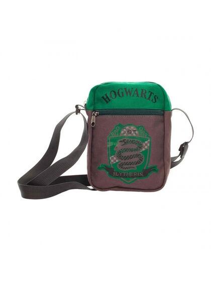 Bolsa Pequeña de Tela Canvas Slytherin Harry Potter