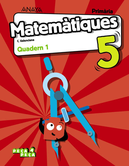 ANV E5 Matemàtiques-quad.1/19 Anaya Text 9788469854105