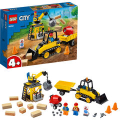 LEGO City Great Vehicles  Buldócer de Construcción (60252)