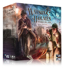 Asmodee Watson & Holmes Diarios del 221B